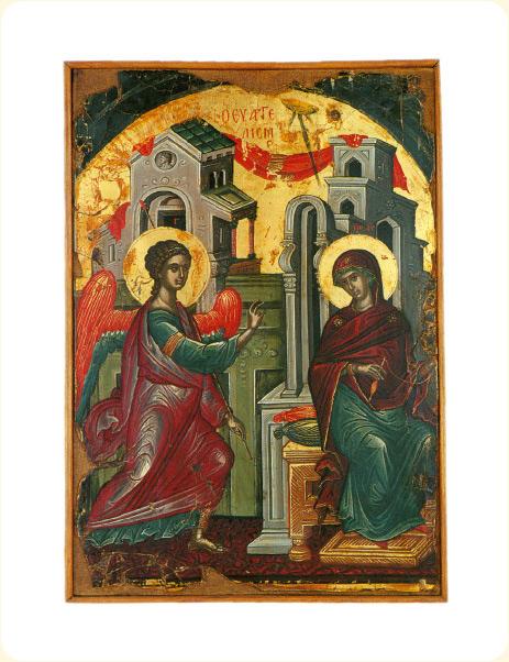Икона «Благовещение», XVI век