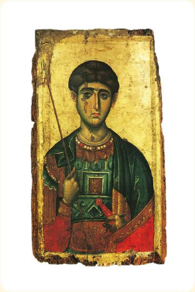 Св. Димитрий, XIV век