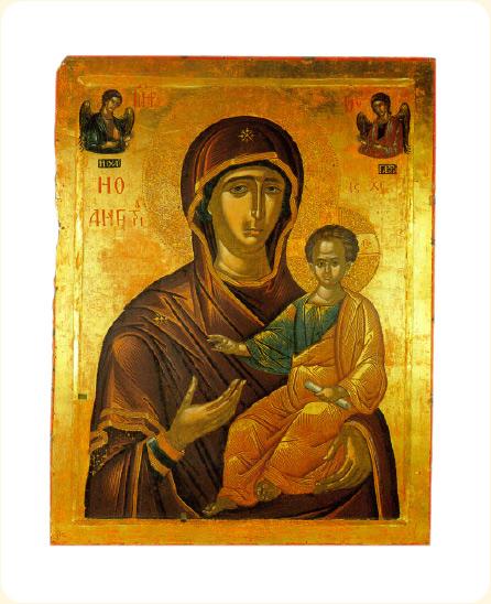 Икона Божией Матери «Одигитрия», XVI век