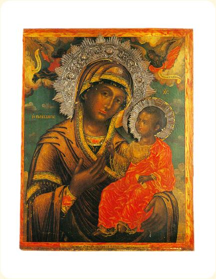 Икона Божией Матери «Параклисис», XVIII век