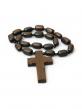 Четки из дерева с крестом (ДГ-Ч20)