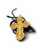 Нательный крестик с распятием (3х2)