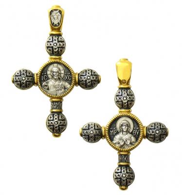 """Крест """"Господь Вседержитель. Божия Матерь Ассунта"""""""