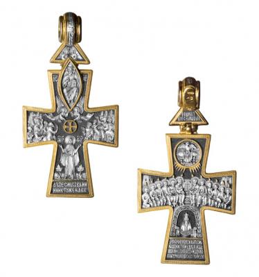"""Крест """"Вознесение. Сошествие Святого Духа"""""""